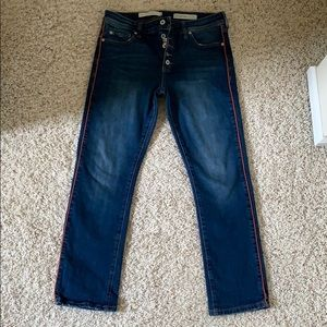 Pilcro and the letterpress jeans. Size 28.